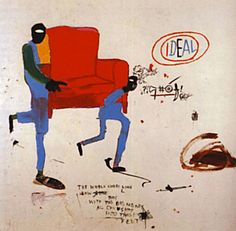 Light Blue Movers - Jean-Michel Basquiat