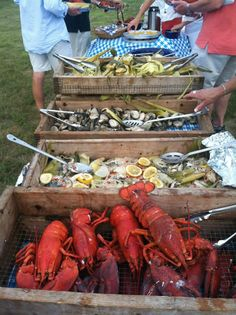 "enjoynantucket: ""Enjoy Nantucket Seafood Bake """
