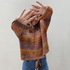Lovely soft sweater in autumn colors Knitwear, Autumn, Pullover, Boutique, Colors, Model, Sweaters, Collection, Fashion