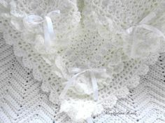 Unique Mothers Day Gifts, Mother Day Gifts, Bernat Baby Sport Yarn, Baby Pullover, Victorian Lace, Crib Blanket, Baby Afghans, Newborn Crochet, Lace Border