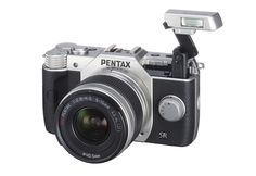 Pentax Q10 with Flash popped out
