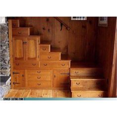 Dresser Staircase! I Love It!!!