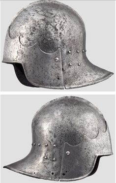 An Italian tailed sallet circa 1450-70. See The Metropolitan Museum Journal 24 (1989), PHYRR, Stuart W., European Armor from the Imperial Ottoman Arsenal, p.93, with reference to a comparable example to helmet g in pl.14, discussed in BOCCIA, L. G., The Xalkis Funds in Athens and New York, unpublished ms. 1981, No.B46, p.8.