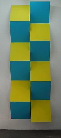 artnet Galleries: Photo-souvenir : Relief 13, travail situé by Daniel Buren from Konrad Fischer Galerie