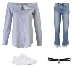 Portrait Collar and Hem Jeans Hem Jeans, Outfit Ideas, Vans, Portrait, Frame, Polyvore, Shirts, Clothes, Outfits