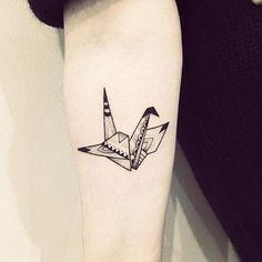 35 Meilleures Images Du Tableau Tatouage Origami Origami Tattoo