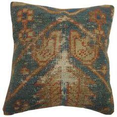 Worn Rug Pillow