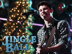 Shawn Mendes at the Jingle Ball