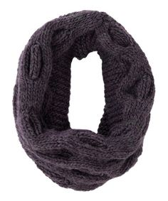 Take a look at this Plum Morley Wool-Blend Infinity Scarf by Shiraleah on #zulily today!
