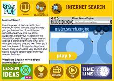 BrainPOP: Internet Search