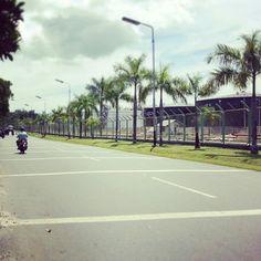 Jalan minyak, street, balikpapan, Indonesia