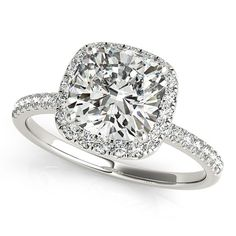 Hey, I found this really awesome Etsy listing at https://www.etsy.com/listing/254755339/moissanite-engagement-ring-cushion-cut