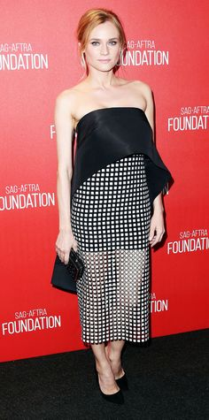Diane Kruger was all smiles at the Screen Actors Guild Foundation 30th Anniversary Celebration. #celebrity #dianekruger