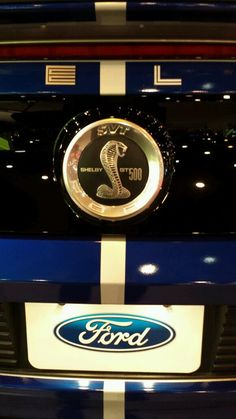 """Shelby 500"" 2015 Ford Mustang Logo"