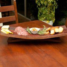 Serving Platter And Dish Small / Wine Barrel Concepts