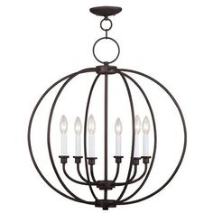 Found it at Wayfair - Bloomfield 6 Light Candle Chandelier