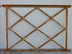 Image result for wrought iron gate rectangle