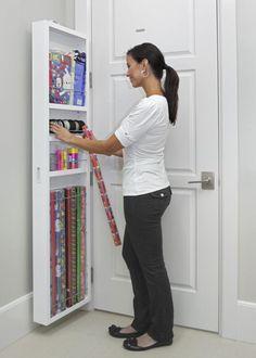Behind-The-Door Hidden Cabinet System