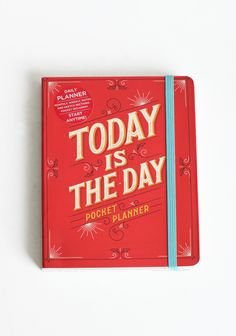 ShopRuche.com  Today Is The Day Pocket Planner $15