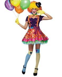 Our selection of clown costumes is perfect for getting a classic Halloween costume. Find adult and children's clown costumes including a sexy clown costume. Sexy Clown Costume, Clown Halloween Costumes, Classic Halloween Costumes, Jazz Costumes, Adult Costumes, Costumes For Women, Funny Costumes, Sailor Fancy Dress, Circus Fancy Dress