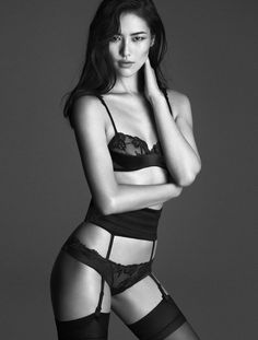 Mariacarla Boscono, Daria Strokous + Liu Wen Star in La Perla Fall/Winter 2014…