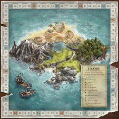 board game tiles illustration - Google-søgning