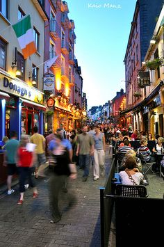 Galway, Ireland- stay by the sea or off the beaten path, but visit Galway at least once