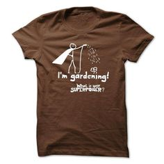 I AM A GARDENER T Shirts, Hoodies. Get it here ==► https://www.sunfrog.com/Hobby/I-AM-A-GARDENER.html?57074 $19