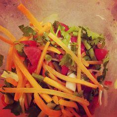My friend Becky's Thai Salad recipe