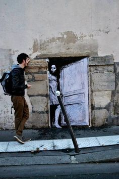 Street Art by Levalet, Paris, France