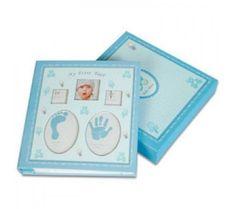 sadece 32,25TL Yeni Doğan Bebek Albümü (120 Fotograflık)-Mavi :: Asrın Mağazası