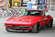Something tells us we should #OUSCI Brian Hobaugh's #Corvette for future reference