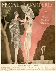 McCall Quarterly - Summer 1928 - Paris Fashion Number - @~ Watsonette