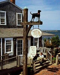 The Black Dog Tavern on Martha's Vineyard