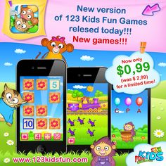 123 Kids Fun Games - now only $0,99!