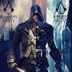 Arno Victor Dorian and Shay Patrick Cormac [Assassin's Creed: Unity and Assassin's Creed: Rogue]