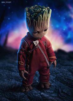 Baby Groot Jacket from Guardians Of The Galaxy Vol 2 Deadpool Wallpaper, Avengers Wallpaper, Joker Wallpapers, Cute Cartoon Wallpapers, Gaming Wallpapers, Marvel Art, Marvel Heroes, Baby Groot Drawing, Kawaii Anime