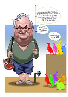 Último trabajo, last comisión #carcoma #caricatura #caricaturas #regalo #despedida #jubilación #trabajo