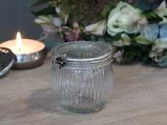 Box m. Chic Antique, Bella Rose, Mason Jars, Glass Vase, Candle Holders, Box, Candles, Antiques, Vintage