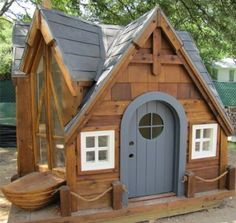 Chic Kids Wooden Playhouse | 192298 | Home Design Ideas
