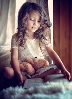captures the early love of reading!