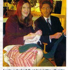 Annette O'Toole & John Glover Annette O'toole, Smallville, It Cast, Poster, Painting, Color, Art, Style, Art Background