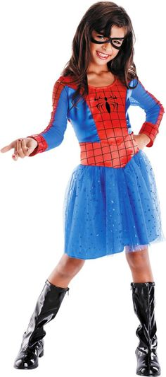 Spider-Girl Costume for Girls - Party City