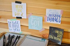 Free Printable Motivational Quotes for a Vision Board