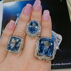 Cute Jewelry, Jewelry Accessories, Jewelry Design, Beautiful Engagement Rings, Beautiful Rings, Diamond Jewelry, Gemstone Jewelry, Ringe Gold, Gold Ring Designs