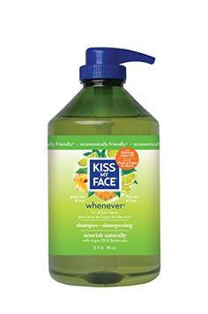 Kiss My Face Whenever Shampoo, Green Tea & Lime, Value Size, 32 Ounce Kiss My Face http://www.amazon.com/dp/B003EUR1D2/ref=cm_sw_r_pi_dp_-LzWub0A2AJCB
