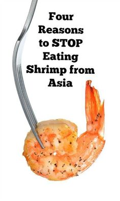Americans eat A LOT of imported shrimp. But there are hidden costs to the global shrimp trade. Learn why including 4 reason to stop eating shrimp from Asia.    #sustainableseafood #shrimp #realfood Stop Eating, Eating Well, Making Bone Broth, Shrimp Farming, Seafood Soup Recipes, Aqua Culture, Sustainable Seafood, Frozen Shrimp, Local Seafood