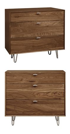 If its clean lines and slim profile have not sold you, the eye-catching accents on this Destiny Dresser probably will. We like the suspension look it gives off, thanks to mid-century–inspired hairpin l...  Find the Destiny Dresser, as seen in the Modern Rustic Retreat Collection at http://dotandbo.com/collections/modern-rustic-retreat?utm_source=pinterest&utm_medium=organic&db_sku=117764