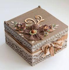New Jewerly Box Handmade Vintage 50 Ideas Decoupage Box, Decoupage Vintage, Cigar Box Crafts, Decoration Shabby, Altered Cigar Boxes, Handmade Jewelry Box, Vintage Jewelry, Antique Jewelry, Shabby Chic Crafts