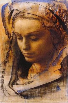 Rossella IV // by Pietro Annigoni